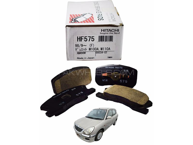 Hitachi Front Brake Pad For Toyota Duet 1998-2004 - HF575 in Lahore