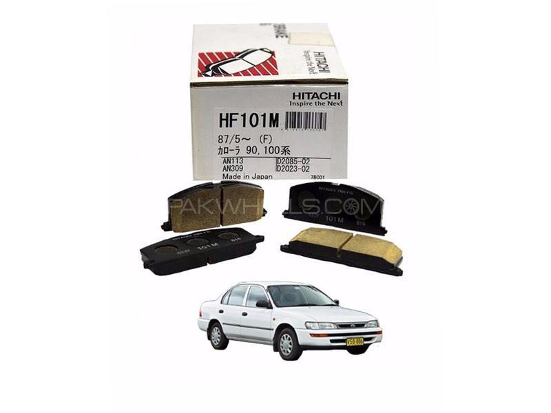 Hitachi Front Brake Pad For Toyota Corolla 1991-1995 - HF101M Image-1