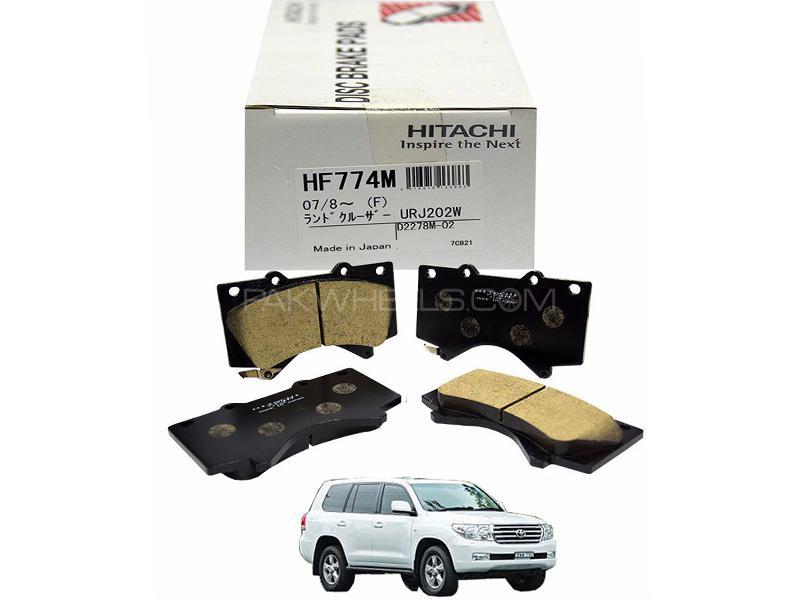 Hitachi Rear Brake Pad For Toyota Land Cruiser  2007-2014 - HF774M Image-1