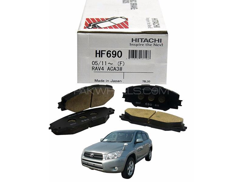 Hitachi Front Brake Pad For Toyota Rav4 Aca36 2005-2012 - HF413M Image-1