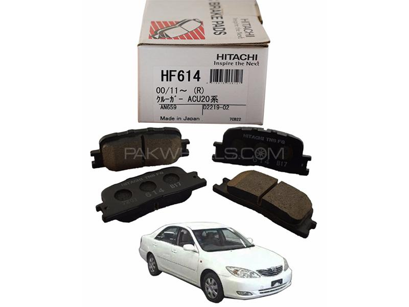Hitachi Rear Brake Pad For Toyota Camry 2001-2006 - HF614 Image-1