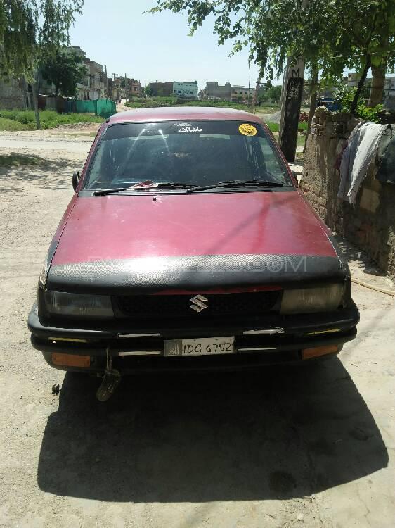 Subaru Justy 1993 Image-1
