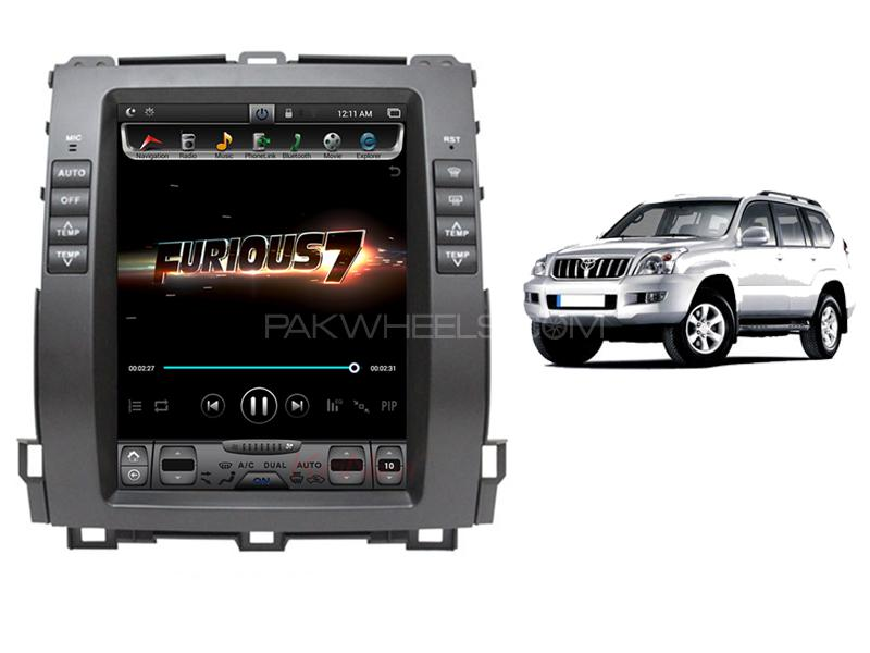 Toyota Prado Tesla Android Head Unit For 2006-2010 Image-1