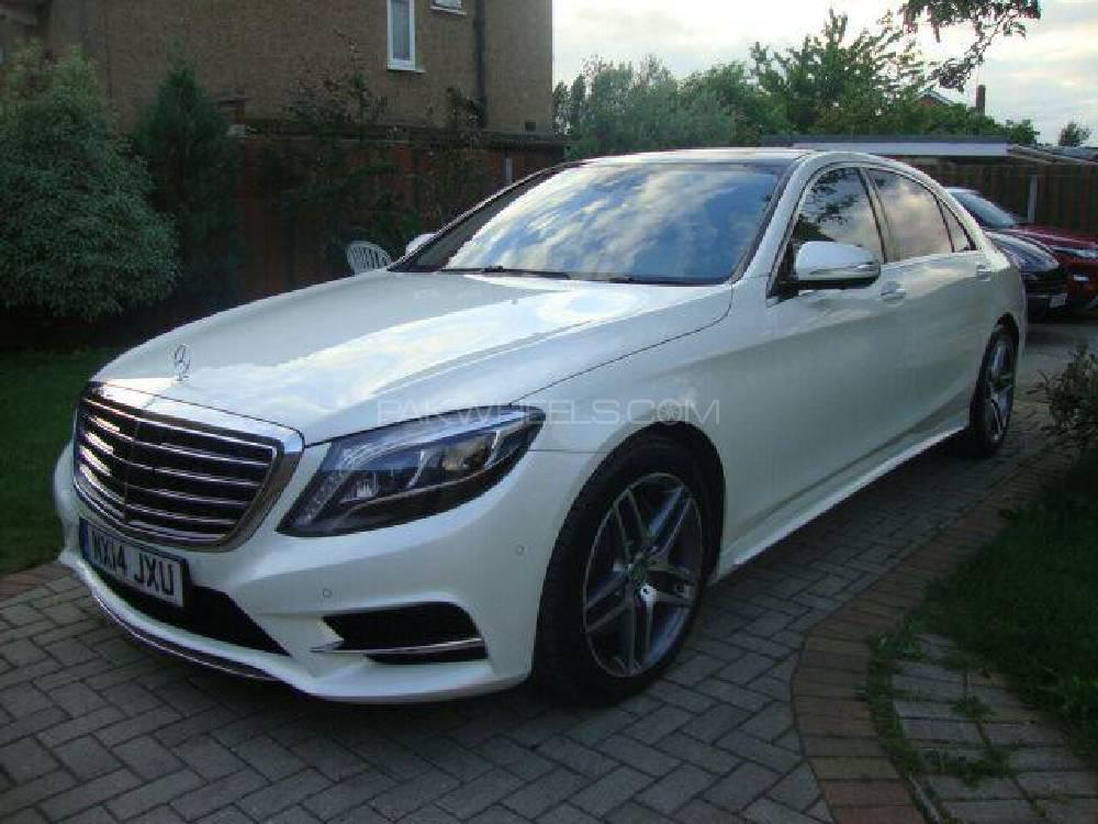 Mercedes Benz S Class S400 L Hybrid AMG 2014 Image-1