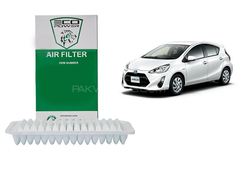 Eco Power Air Filter For Toyota Aqua 2012-2019 in Lahore