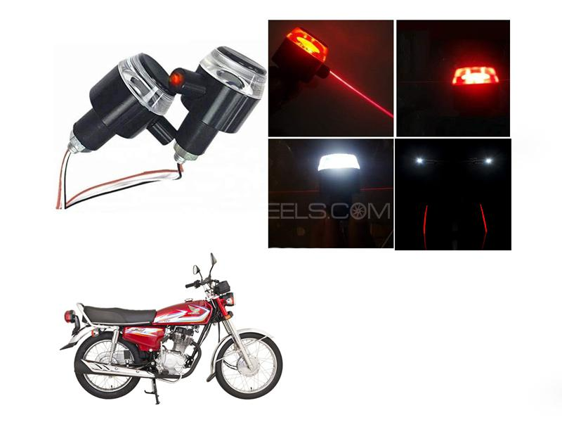 Handle Grip Light With Laser For Cg125 Image-1