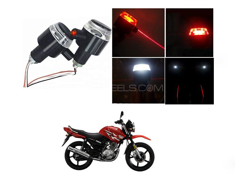Handle Grip Light With Laser For Ybr Image-1