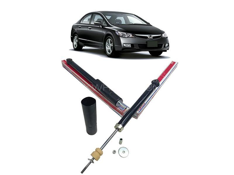 Rear Shocks For Honda Civic 2007-2012 2pcs -E20019 Image-1