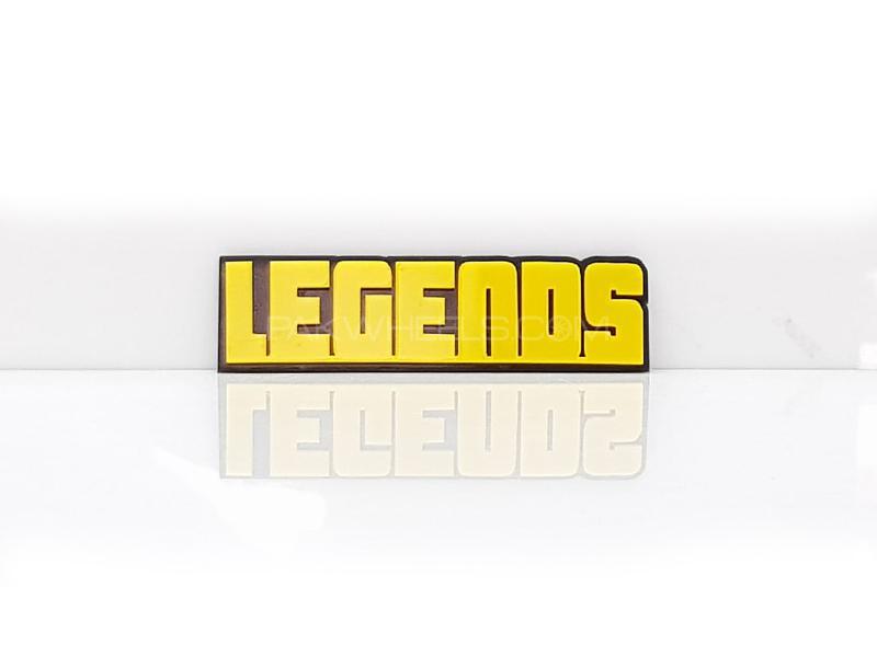 Legends Plastic Pvc Emblem Image-1
