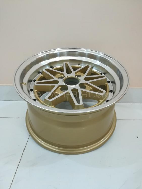 Buy Brand New 15 Inch Alloy Rims Wheels 8jj 4x100 In Karachi Pakwheels