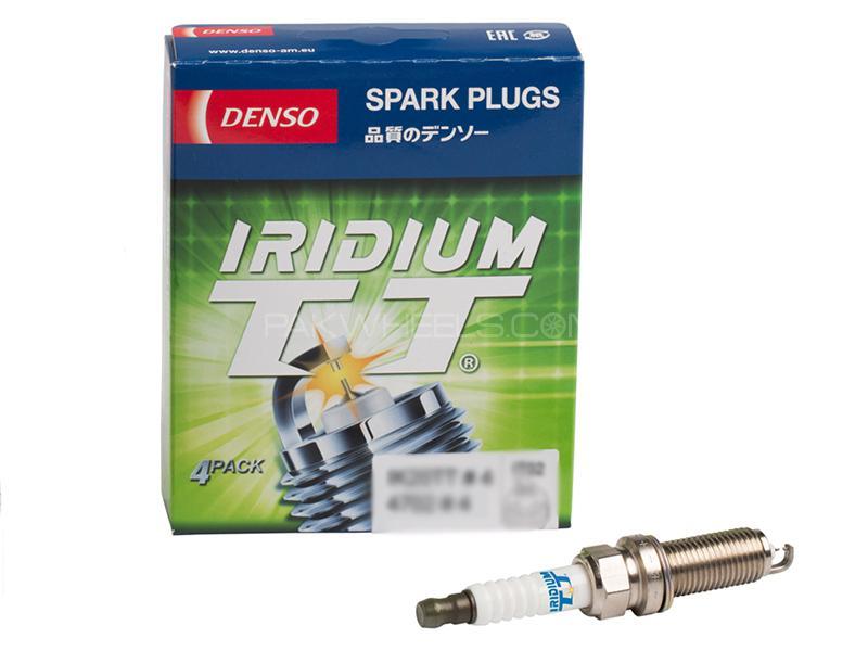 Denso Double Iradium TT IK20TT - 4 Pcs Image-1