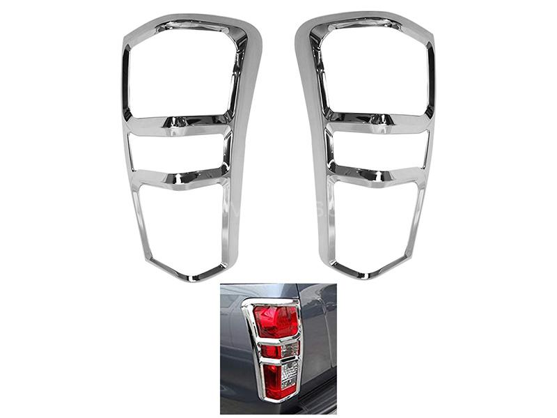 Back Light Chrome Cover For Isuzu D-Max 2018-2019 in Karachi
