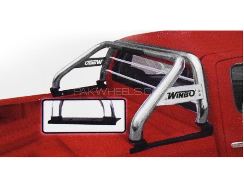 Roll Bar For Toyota Revo 2016-2019 - Silver  Image-1