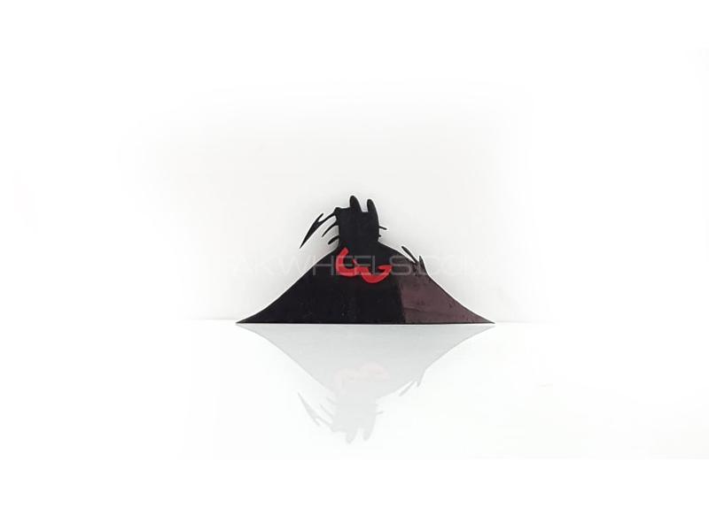 Angry Plastic Pvc Emblem Image-1