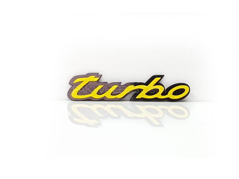 Turbo Plastic Pvc Emblem Image-1