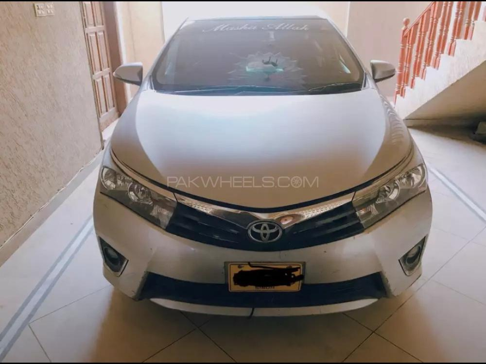 Toyota Corolla GLi 1.3 VVTi 2015 Image-1