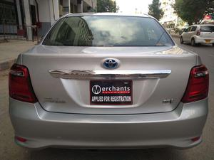 Toyota Corolla Axio X  2015 Model  1500 cc  56,000 km  Silver Colour  4 Grade   Complete Auction Sheet Available,  Just Like A Brand New Car.   ===================================   Merchants Automobile Karachi Branch,  We Offer Cars With 100% Original Auction Report Based Cars With Money Back Guarantee.  Recommended Tips To Buy Japanese Vehicle:   1. Always Check Auction Report.  2. Verify Auction Report From Someone Else.  3. Ask For Japan Yard Pics If Possible.   MAY ALLAH CURSE LIARS..