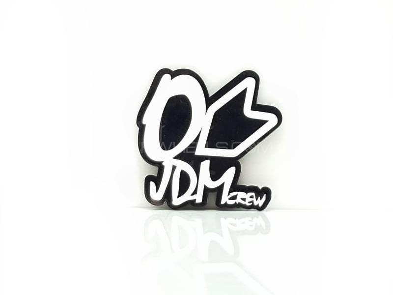 Jdm Crew Plastic Pvc Emblem Image-1