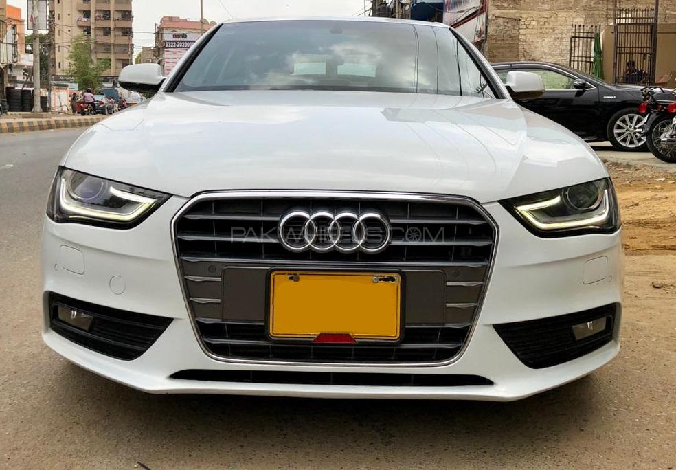 Audi A4 1 8 Tfsi 2014 For Sale In Karachi Pakwheels