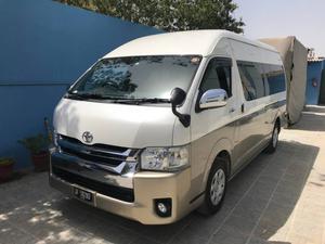 Toyota Hiace Cars for sale in Karachi | PakWheels