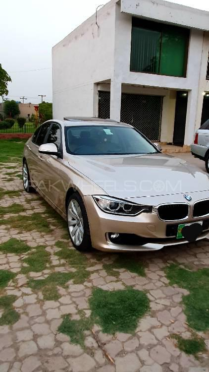 Bmw 3 Series 316i 2015 For Sale In Lahore Pakwheels