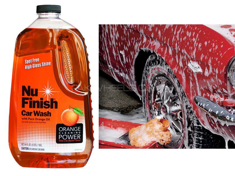 Nu Car Wash Shampoo 64oz Image-1