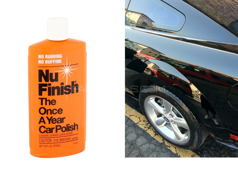 Nu Finish Car Liquid Polish 16oz Image-1