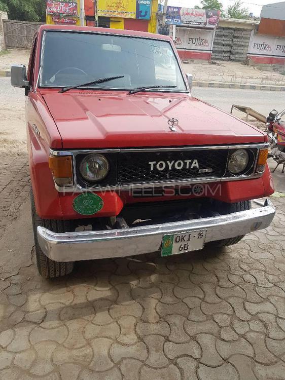 Toyota Prado RX 2.7 (3-Door) 1986 Image-1