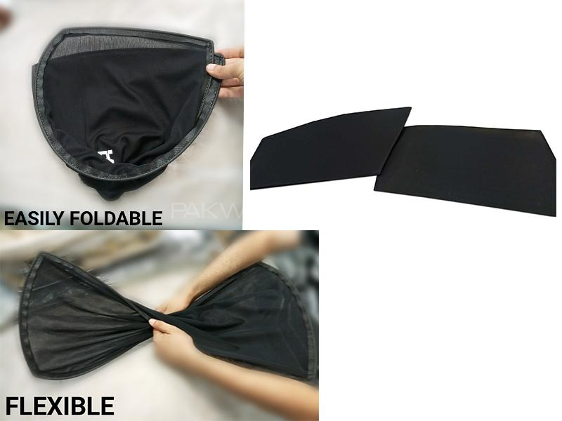 Foldable & Flexible Sun Shades For Nissan Clipper 2007-2010 Image-1