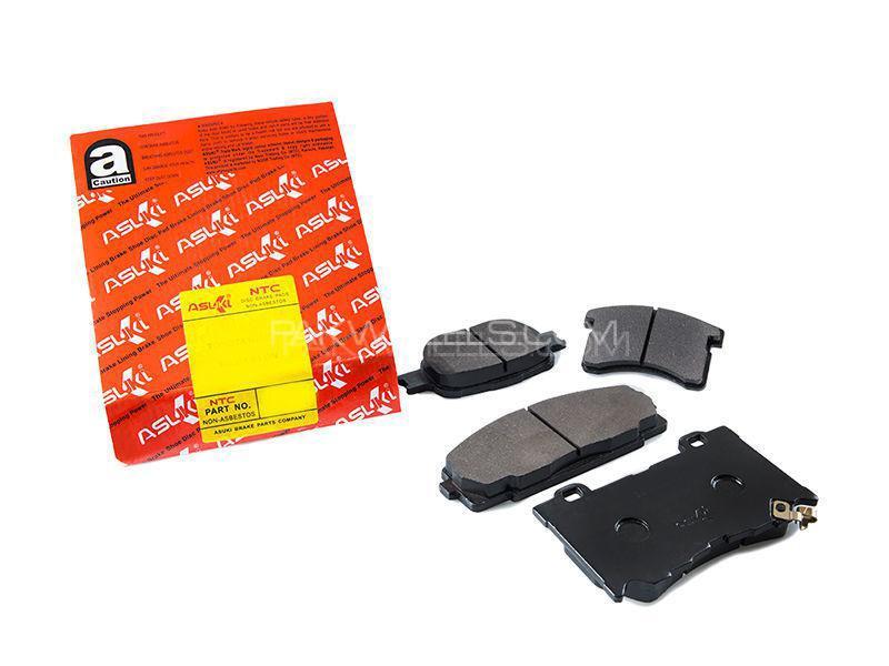 Honda Concerto 1989 Asuki Rear Brake Pads - A-206N Image-1