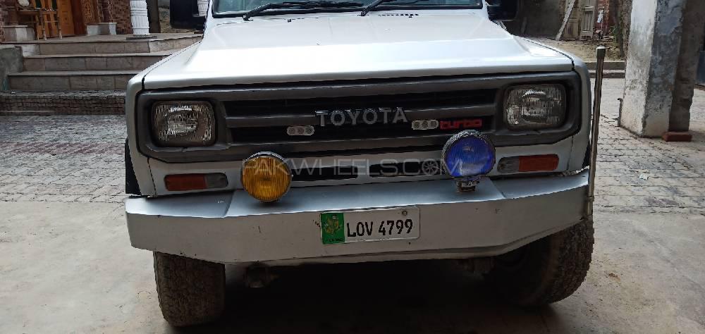 Daihatsu Rocky 1986 Image-1