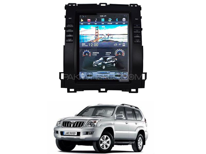 Toyota Land Cruiser Prado Tesla Android Player For 2002-2009 Image-1