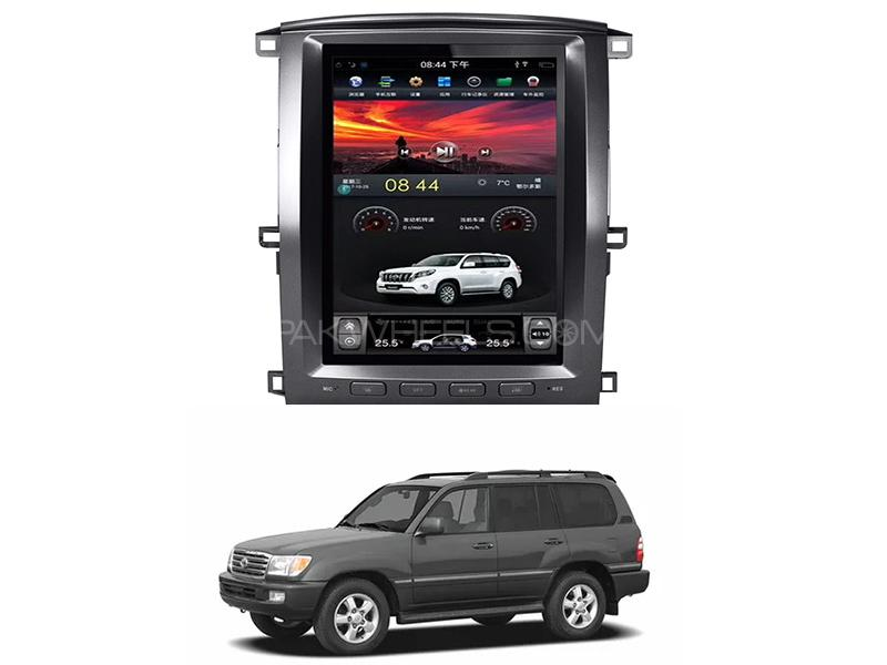 Toyota Land Cruiser Tesla Android Player For 2003-2007 Image-1