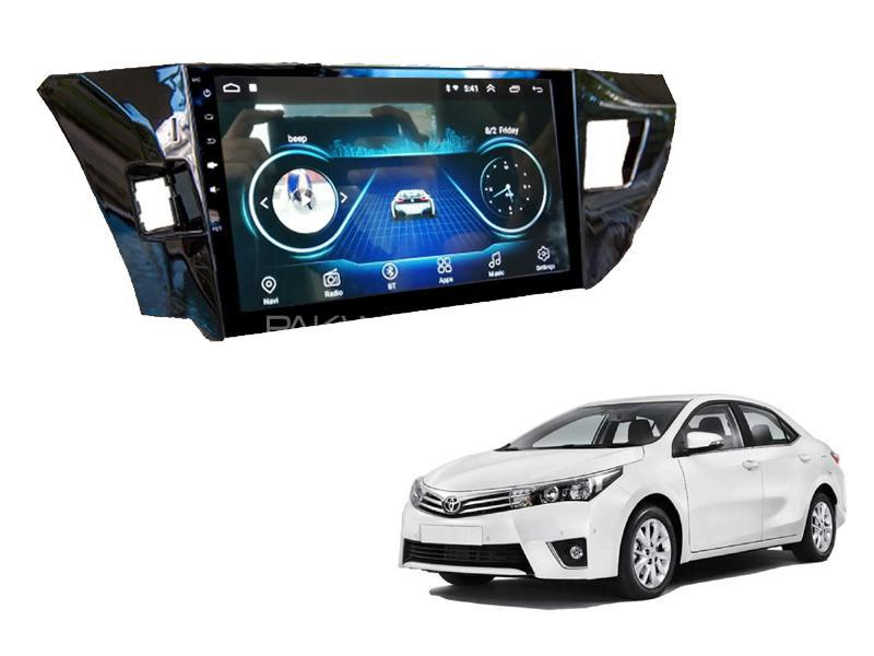 Toyota Corolla LCD Panel Android Head Unit For 2014-2017 Image-1