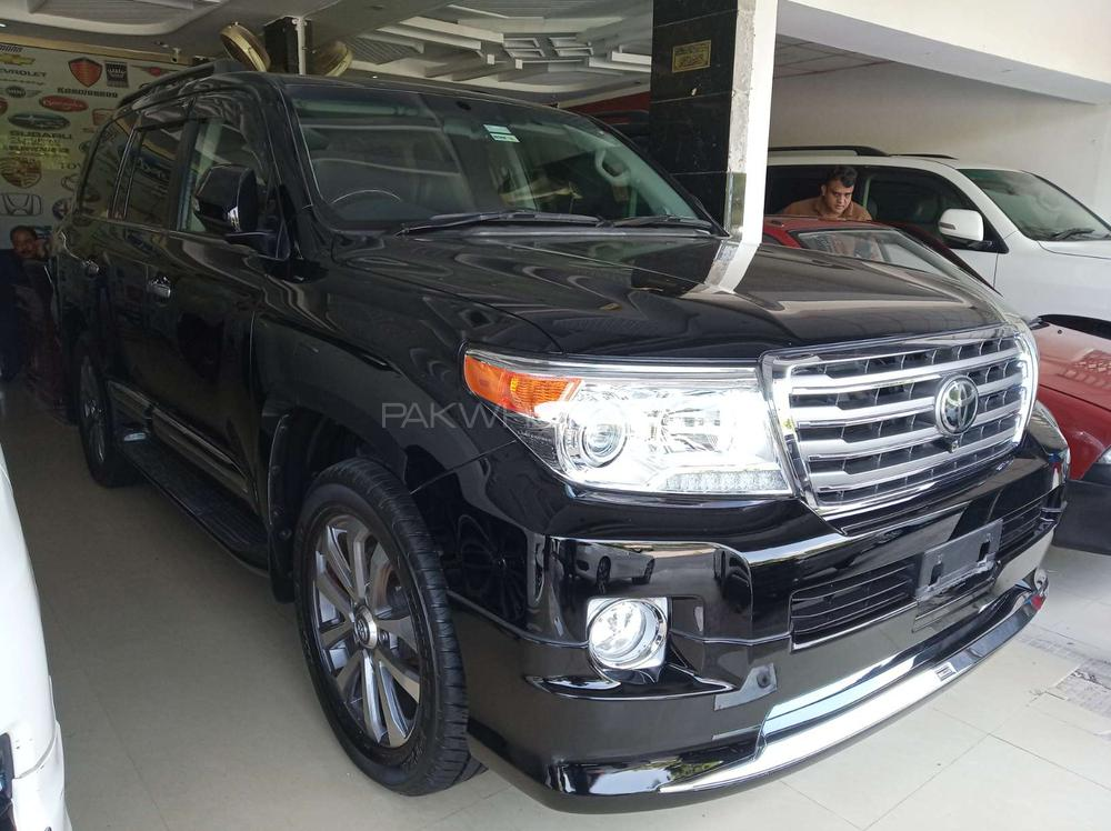 Toyota Land Cruiser ZX 60th Black Leather Selection 2015 Image-1