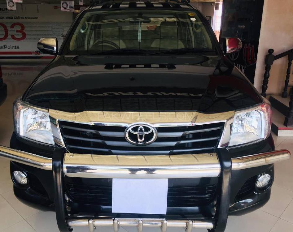 Toyota Hilux Vigo Champ GX 2015 Image-1