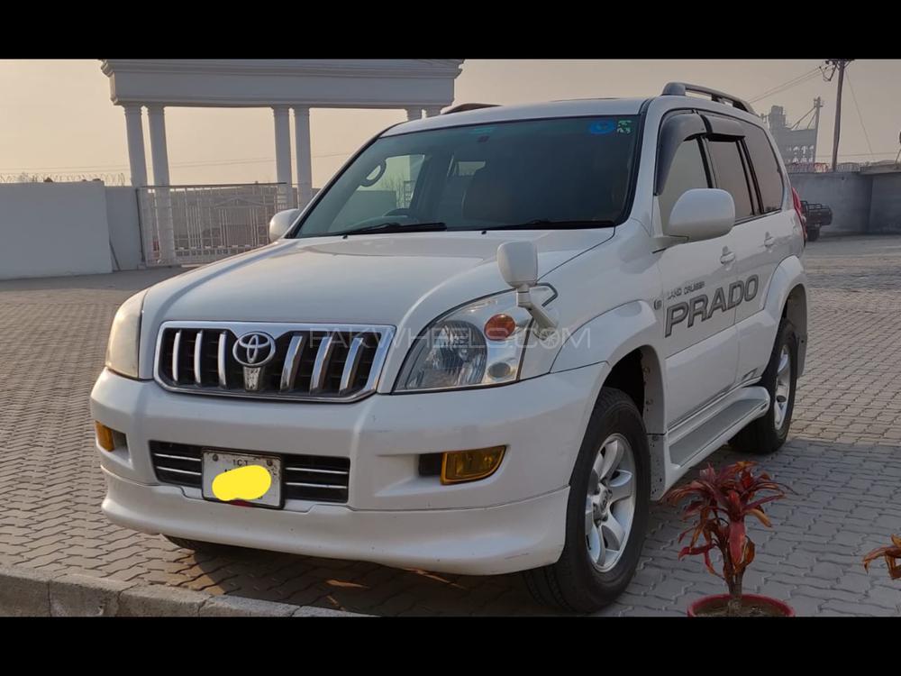Toyota Prado TZ 3.0D 2005 Image-1