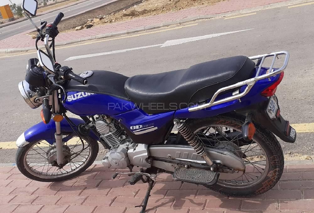 Used Suzuki GD 110 2013 Bike for sale in Karachi - 250183 | PakWheels