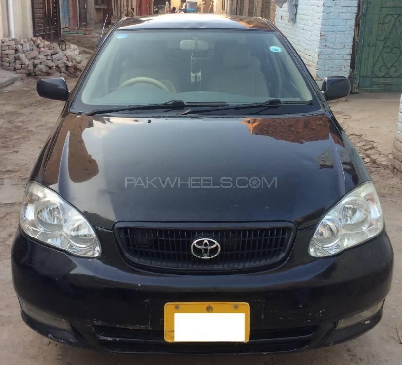 Toyota Corolla GLi 1.3 2002 Image-1