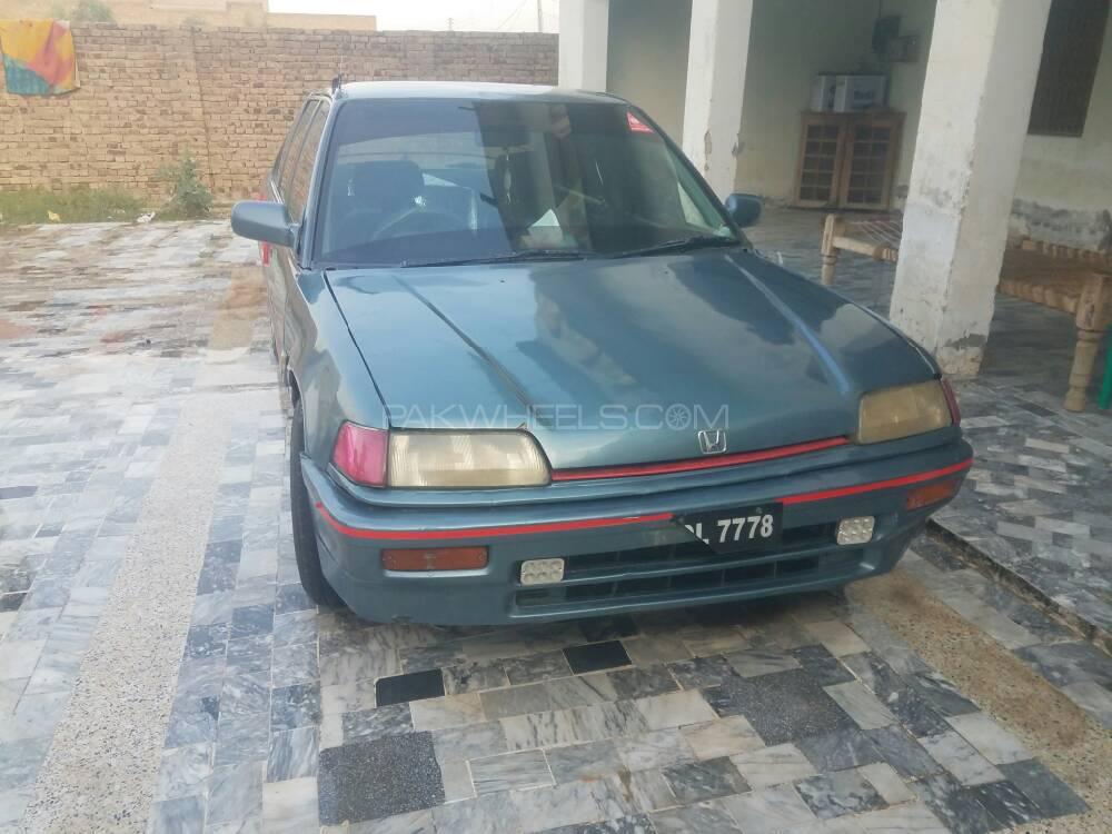 Honda Civic EXi 1987 Image-1