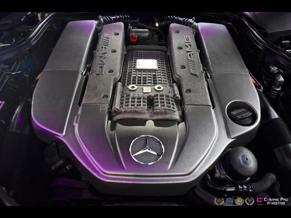 Mercedes Benz E Class E55 AMG 2008 Image-1