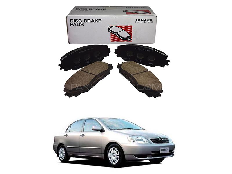 Hitachi Front Brake Pad For Toyota Corolla X 2002-2008 - HF600M in Lahore