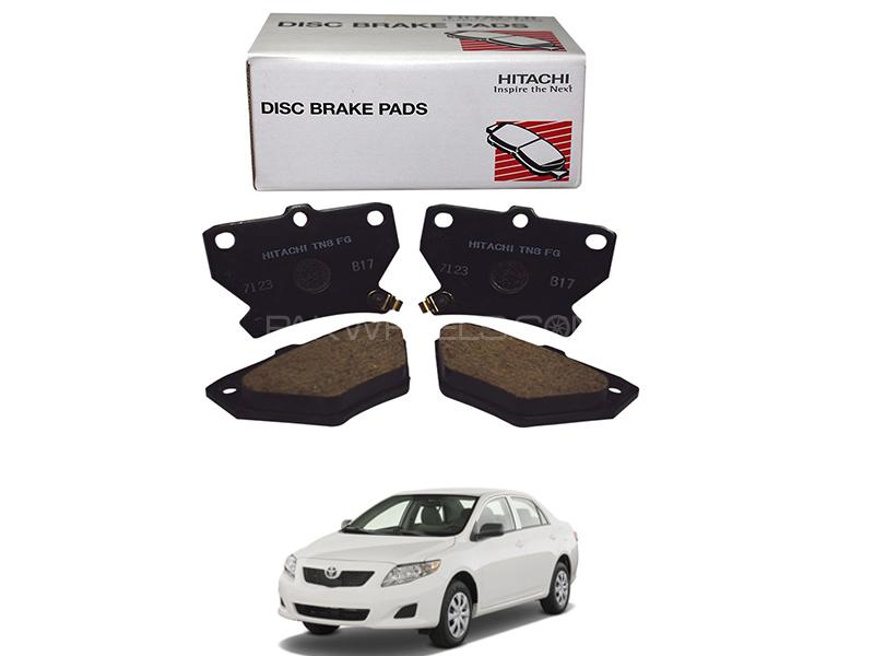 Hitachi Rear Brake Pad For Toyota Corolla 2009-2014 - HF687 Image-1