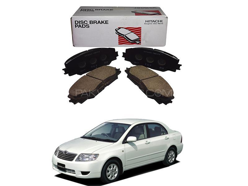 Hitachi Front Brake Pad For Toyota Assista 2002-2008 - HF600M Image-1