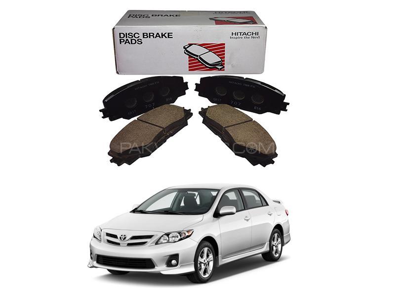 Hitachi Front Brake Pad For Toyota Corolla 2009-2014 - HF707 Image-1