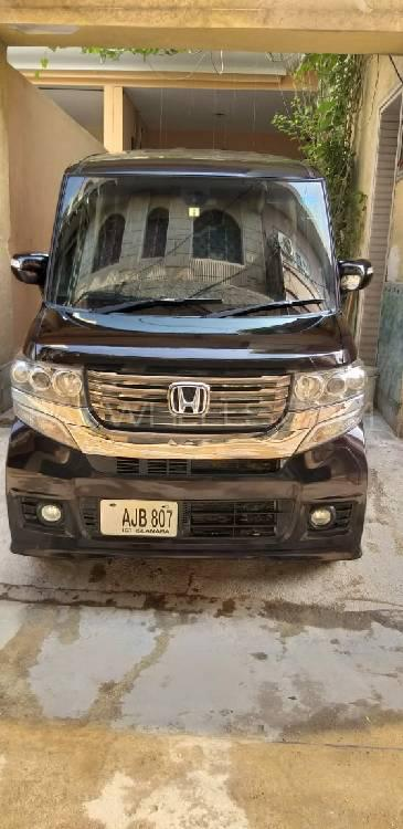 Honda N Box Custom G-L PACKAGE 2014 Image-1