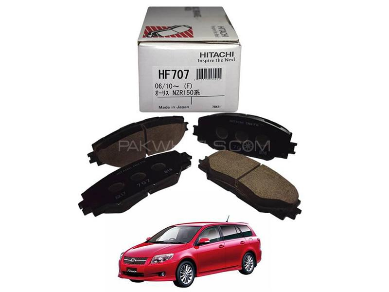 Hitachi Front Brake Pad For Toyota Fielder 2006-2012 - HF707 in Lahore