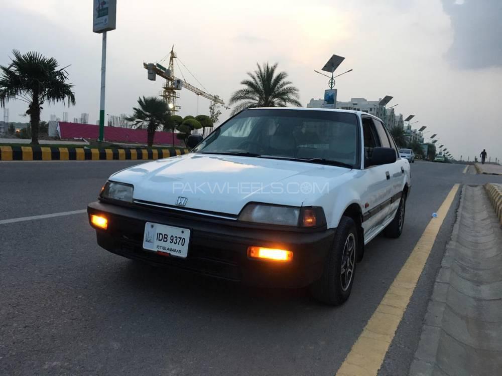 Honda Civic EX 1987 Image-1