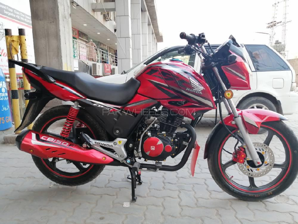 Used Honda CB 150F 2018 Bike for sale in Sargodha - 252320 | PakWheels