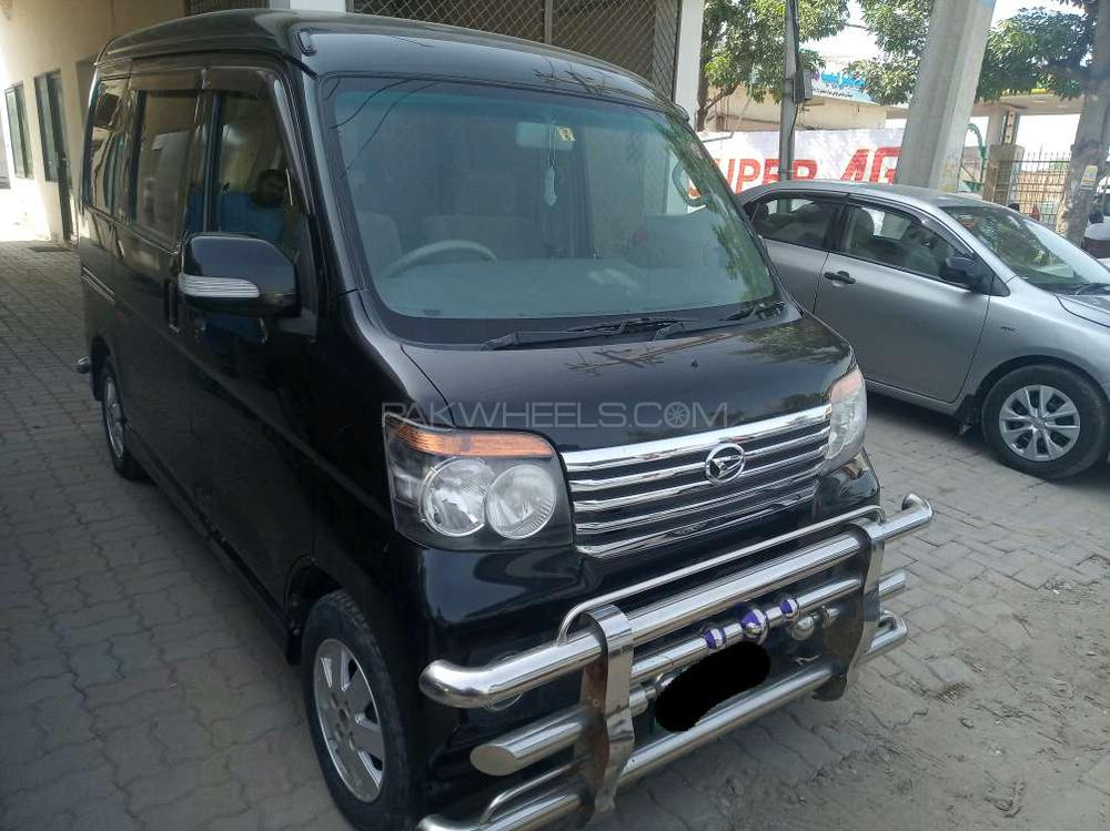 Daihatsu Atrai Wagon CUSTOM TURBO R BLACK EDITION 2012 Image-1